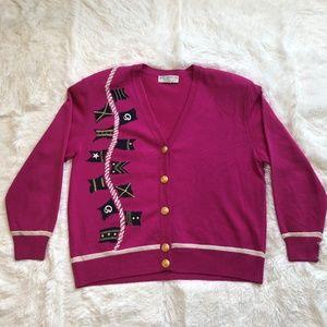 ST JOHN by Marie Gray Women's Knit Long Cardigan P